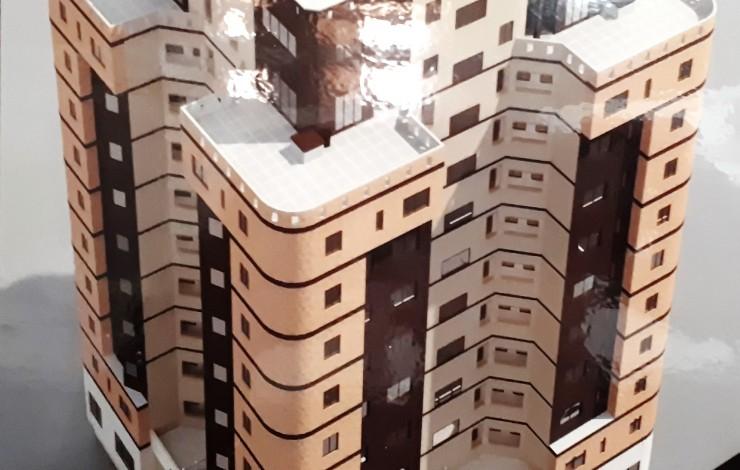 برج مسکونی معلم(اجرای سیستم باسداکت)